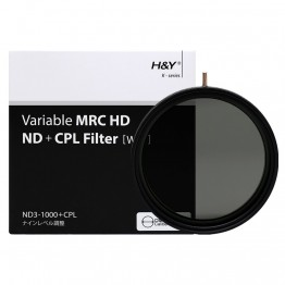 HD MRC VARIABLE ND3-1000 + CPL 82mm